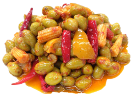 OLIVES A LA MEXICAINE